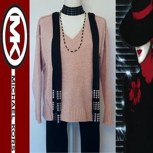 Michael Kors Women's Cozy Knit Sweater-Small